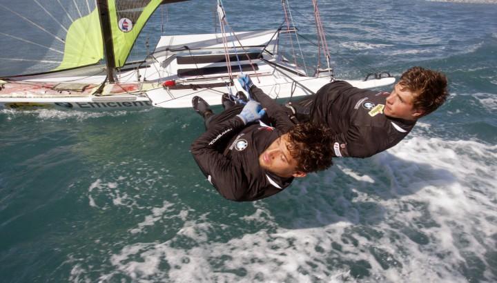 Bronze! Benjamin Bildstein und David Hussl segeln bei der Junioren-WM auf Rang drei 01