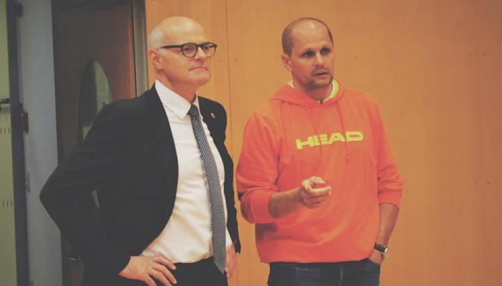 ÖOC-Präsident Dr. Karl Stoss zu Besuch im Olympiazentrum 01