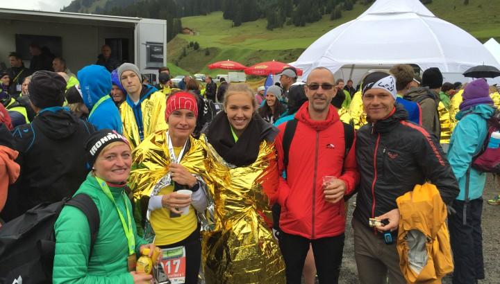 Olympiazentrums-Staffeln beim Trans Vorarlberg 01