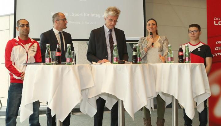ÖOC-Initiative Sport für Integration 02