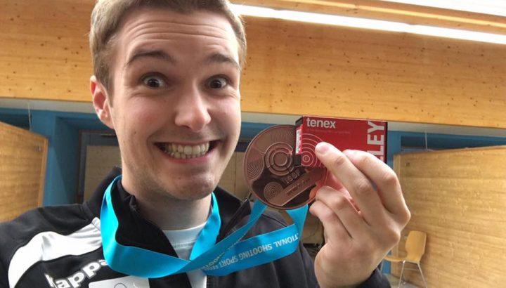 Thomas Mathis gewinnt Bronze bei ISSF WC in München 01