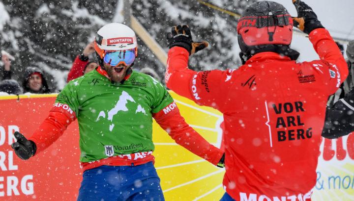 Erfolgreiches Snowboardcross-Wochenende im Montafon! 01
