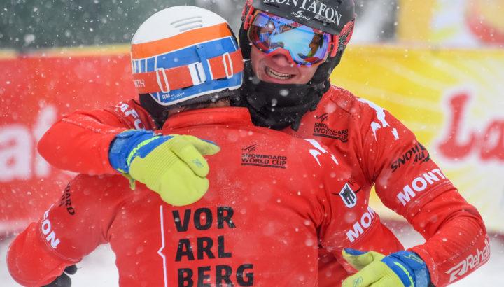 Erfolgreiches Snowboardcross-Wochenende im Montafon! 02