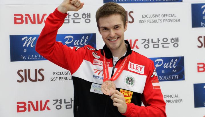 ISSF WM Changwon: Mathis holt Bronze im KK-Liegend 01