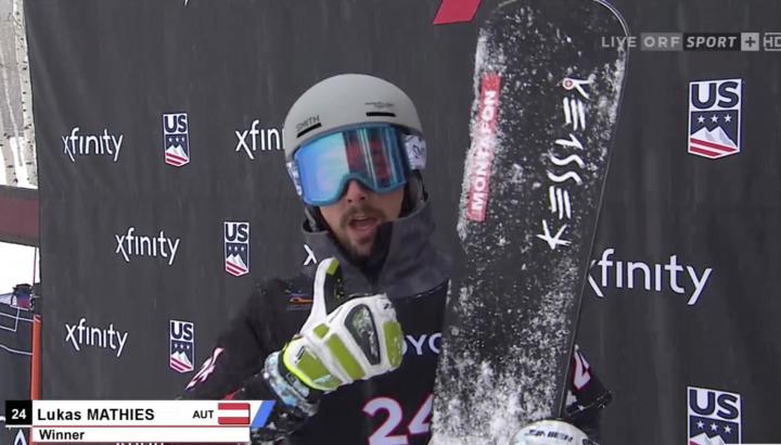 Lukas Mathies in Pyeongchang an der zweiten Stelle 01