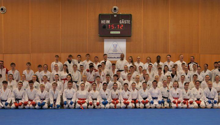 Karate-Elite auf Trainingscamp im Olympiazentrum 01