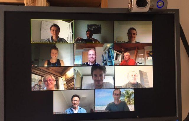 Informeller Austausch per Videokonferenz (Pilot) 01