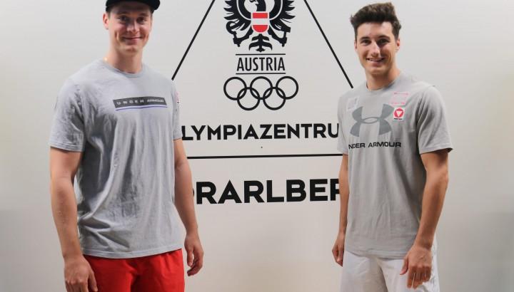 """Luca Hämmerle und Patrick Feurstein neu im """"All in"""" Kader 01"""