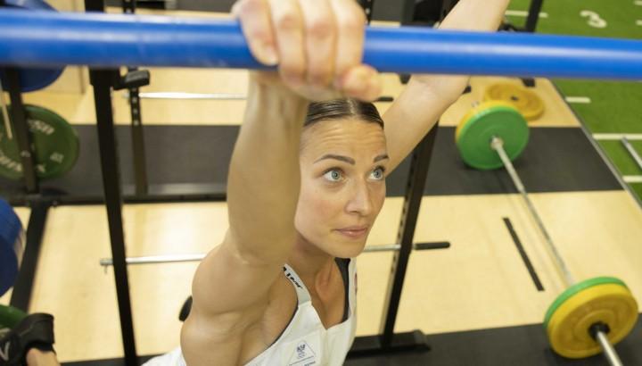 "Betti Plank: ""Heimaturlaub"" alias intensives Training im Olympiazentrum 01"