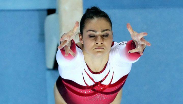 Platz 8 für Elisa Hämmerle im Balken-EM-Finale 01