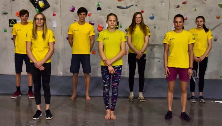 Sieben VorarlbergerInnen im Jugendkader des Nationalteams 01