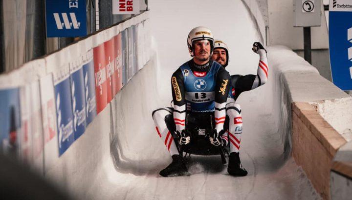 Top Ergebnisse: Steu/Koller im Rodel Doppelsitzer und Kristian Huber im Vierer-Bob 01