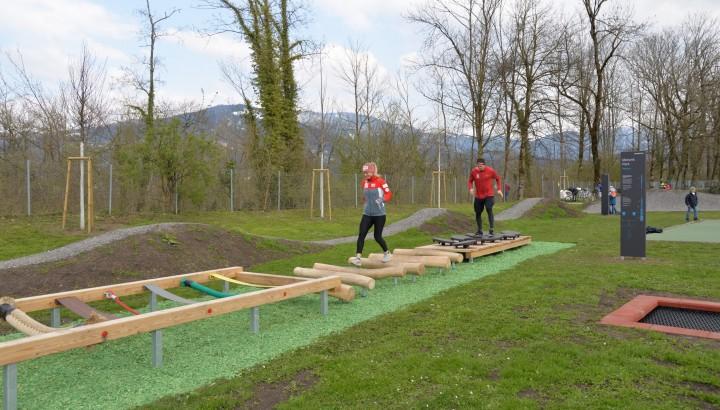 Motorikpark & Crosslaufstrecke Birkenwiese eröffnet 01