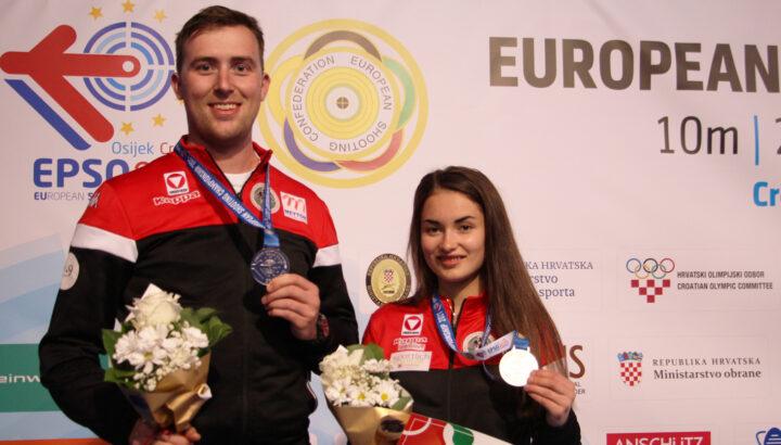 EM Osijek 2021: Medaillenflut für Vorarlberger Schützen 02
