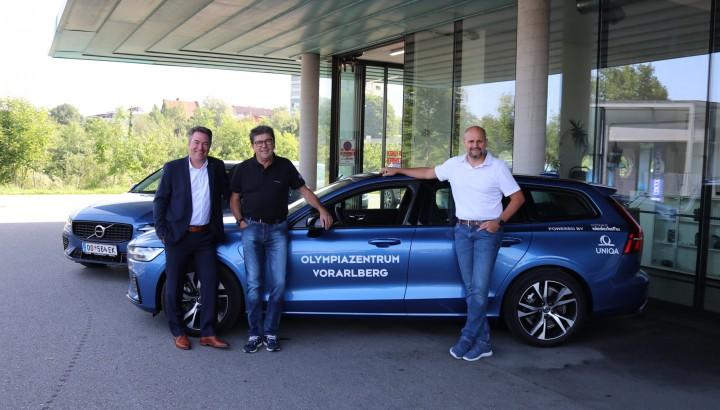 Olympiazentrum setzt auf Plug-in-Hybrid Dienstfahrzeuge 01