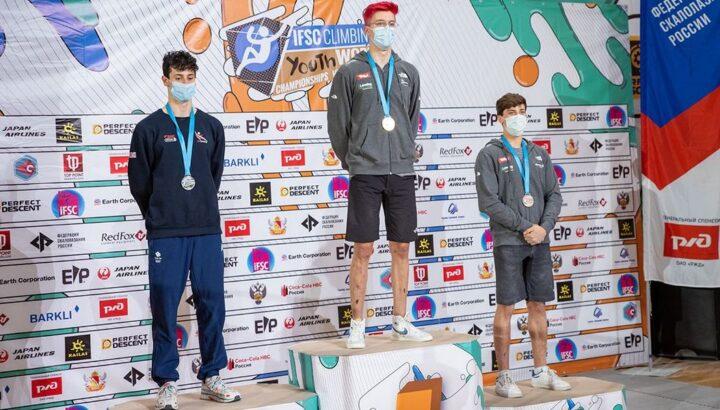 Klettern: Junioren-WM-Bronze für Johannes Hofherr! 01